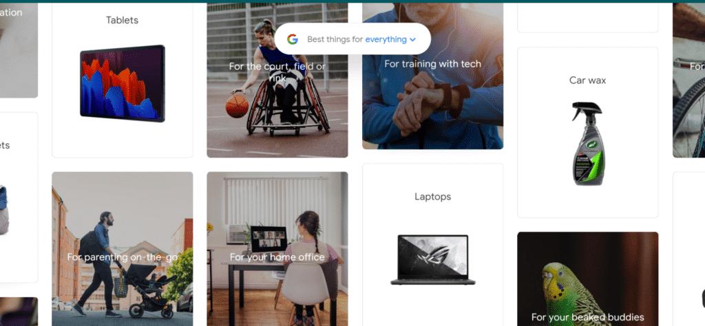 Команда Google Покупок представила новий сайт Best Things for Everything , на якому зібрані 1000 найбільш популярних товарів в інтернеті ✔️ #