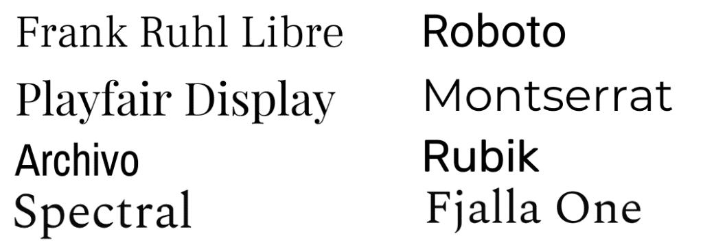Найкращі шрифти від Google Fonts ⭐ ТОП найкращих шрифтів для сайту ⭐ Сайт для перегляду та порівняння шрифтів ⭐ #